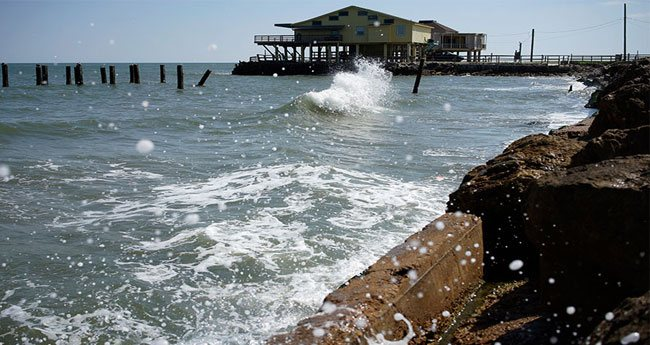 Rising seas threaten